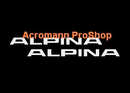 ALPINA 6inch Decal x 2 pcs (Style#1)